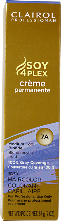7A Medium Cool Blonde Premium Creme Hair Color