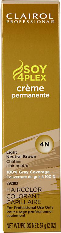 4N Light Neutral Brown Premium Creme Hair Color