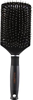 Titanium Ceramic Boar/Nylon Cushion Paddle Brush