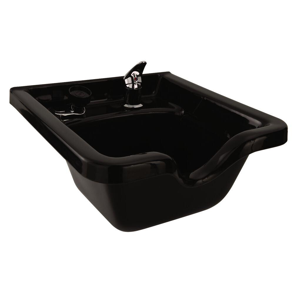 Square abs plastic shampoo bowl for Shampoo bowls