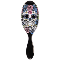 Purple Sugar Skull Brush