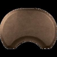 2.5 X 3.5 Granite Copper Round Mat with Chair Depression