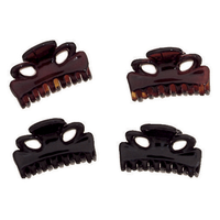 Mini Clips Tortoise and Black