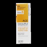 Anti-Aging 9G Light Golden Blonde Permanent Liquid Hair Color