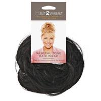Almost Black Natural Tone Hair Wrap