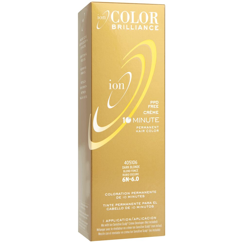 Ion color brilliance 10 minute permanent creme hair color 6n dark blonde permanent creme hair color nvjuhfo Gallery