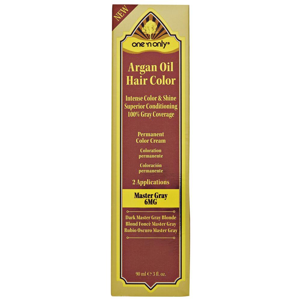 Argan oil hair color cream developer directions