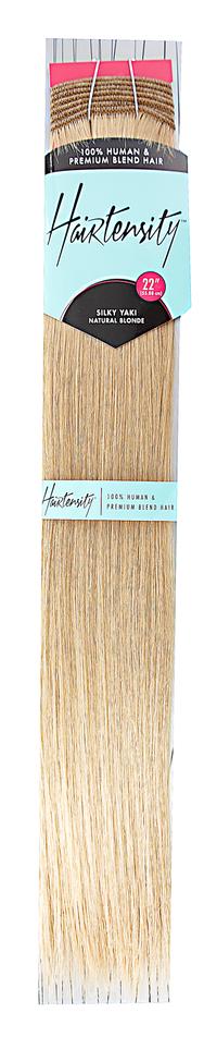 Natural Blonde 22 Inch Human & Premium Blend Hair