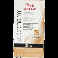 Dark Natural Warm Brown Color Charm Liquid Permanent Hair Color