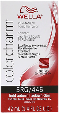 Light Auburn Color Charm Liquid Permanent Hair Color