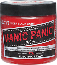 Electric Lava Semi Permanent Cream Hair Color