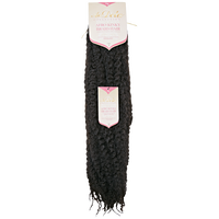 Afro Kinky Dark Brown 20 Inch Braiding Hair