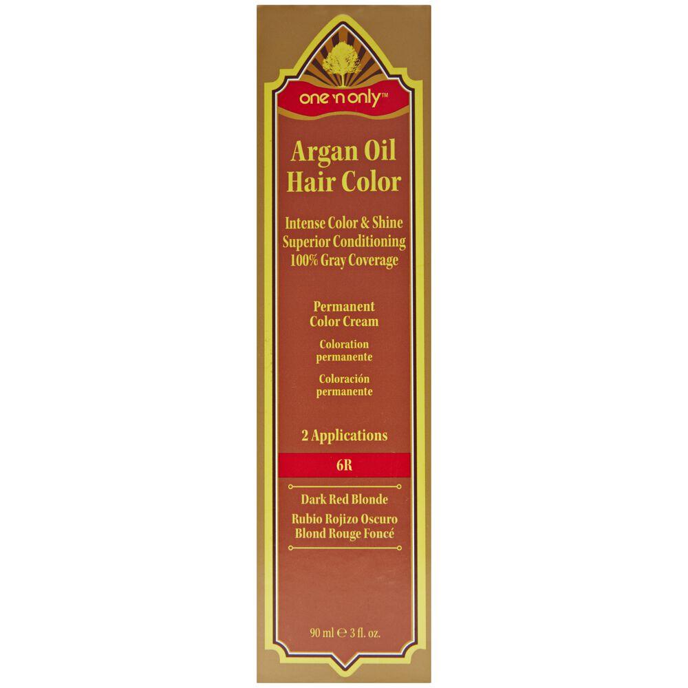 Argan Oil Hair Color Permanent Color Cream