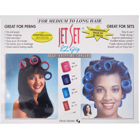Jet Set EZ Grip 22-Piece Curler Set for Longer Hair