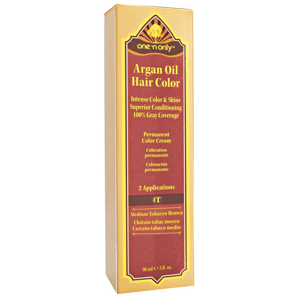 One N Only Argan Oil Permanent Hair Color Cream Tobacco Series