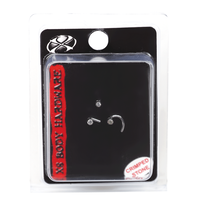 Stainless Steel 1mm Nose Jewelry 3 Pack