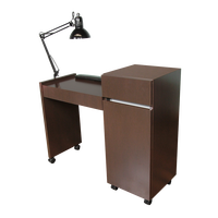 483.42 Reve Manicure Table Brighton Walnut