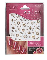 Hearts & Soul Exotica Nail Art Decals
