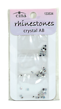 Assorted Aurora Borealis Nail Art Jewelry Decals