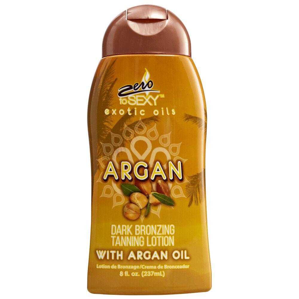 Zero To Sexy Argan Dark Bronzing Tanning Lotion