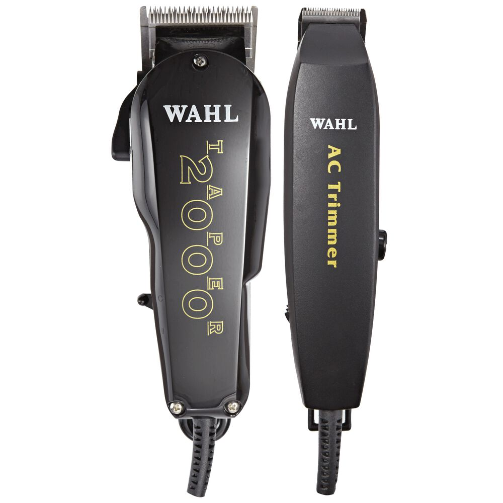 wahl essentials clipper trimmer kit. Black Bedroom Furniture Sets. Home Design Ideas