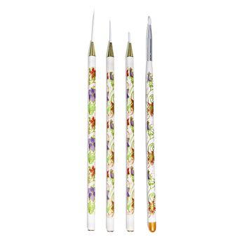 Asp nail art brush set at sally beauty nail art brush set prinsesfo Gallery