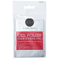 Gel Polish Soak Off Nail Foils