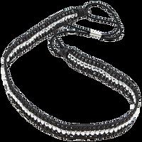 Black & Silver Headwrap