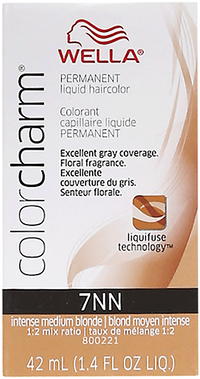 7NN Intense Medium Neutral Blonde Permanent Liquid Hair Color