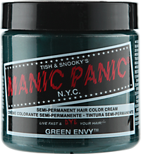 Green Envy Semi Permanent Cream Hair Color
