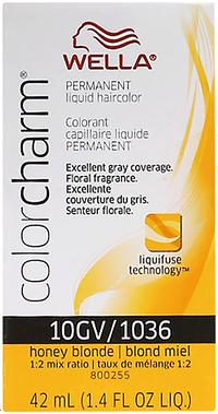 Honey Blonde Color Charm Liquid Permanent Hair Color