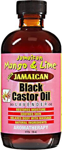 Lavender Black Castor Oil