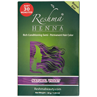 Natural Violet Semi Permanent Hair Color