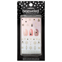 The Next Dimension Bejeweled Nail Art
