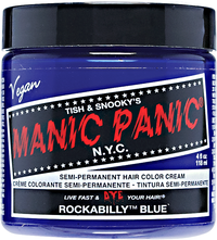Rockabilly Blue Semi Permanent Cream Hair Color
