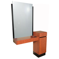 465.48 Reve Wild Cherry Styling Vanity & Ledge