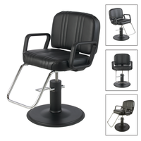 Pibbs Classic Styling Chair With Black Base