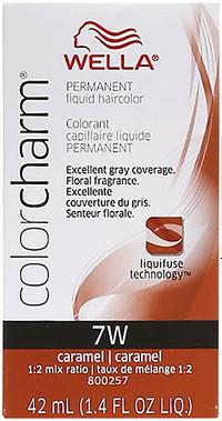 Caramel Color Charm Liquid Permanent Hair Color