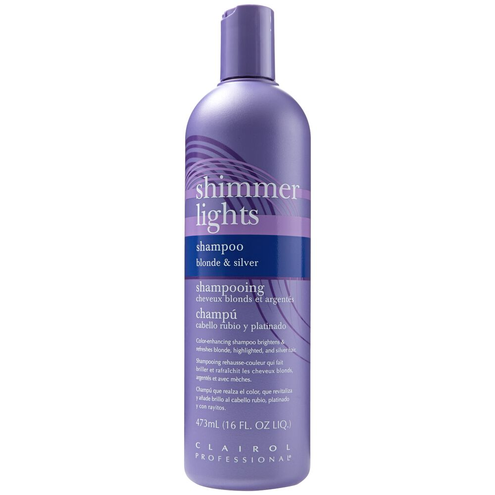 clairol shimmer lights original conditioning shampoo for blonde silver. Black Bedroom Furniture Sets. Home Design Ideas