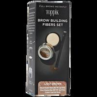 Light Brown Brow Building Fiber Set