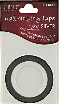 Silver Nail Striping Masking Tape