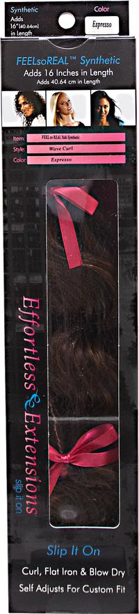 Yaki Wave Curl Espresso 16 Inch Hair Extension