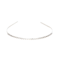 Single Row Rhinestone Headband