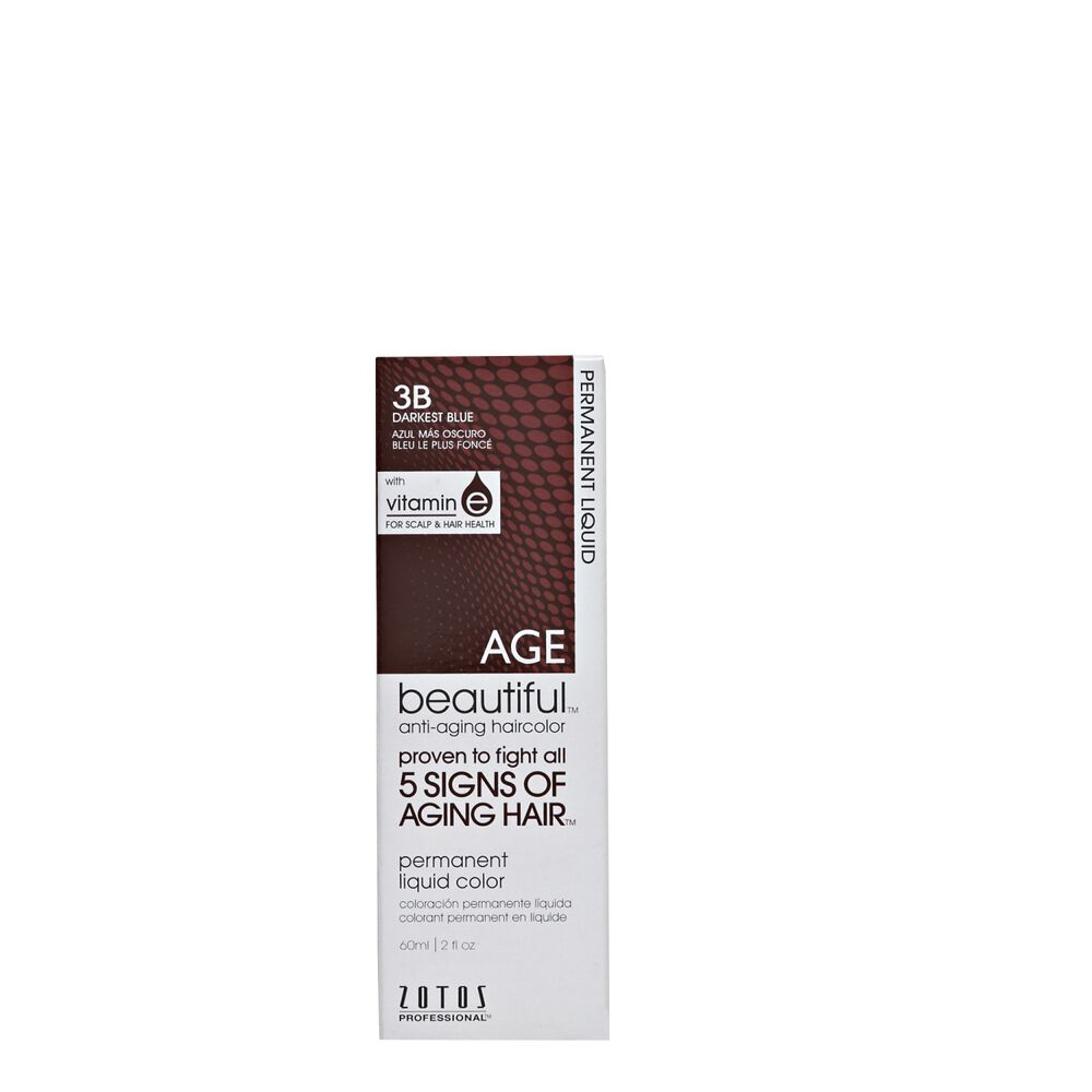 AGEbeautiful AntiAging Permanent Liquid Hair Color With Vitamin E