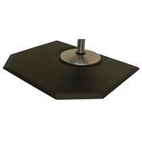 4 x 5 Ultimate Black Mat - Rectanglar Hexagon