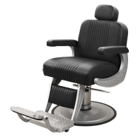 Cobalt Barber Chair