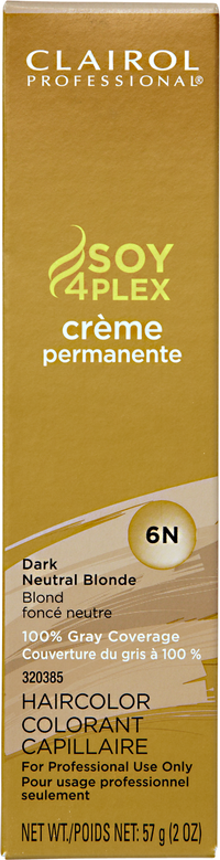 6N Dark Neutral Blonde Premium Creme Hair Color