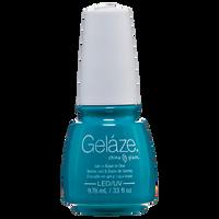 Turned Up Turquoise Gelaze