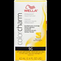Soft Pure Gold Blonde Color Charm Liquid Permanent Hair Color