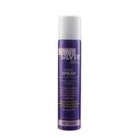 Shiny Silver Travel Hair Spray